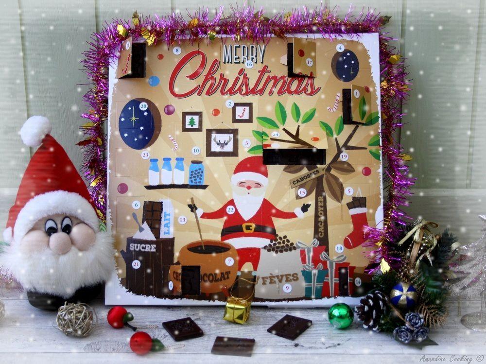 Chocolat maison pour calendrier de l'Avent