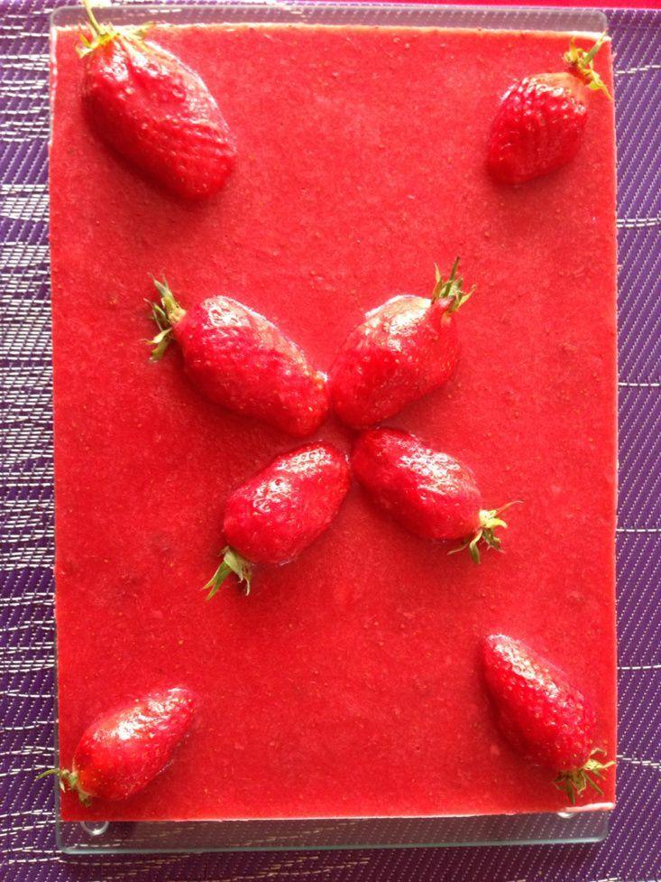marmiton dessert avec des fraises
