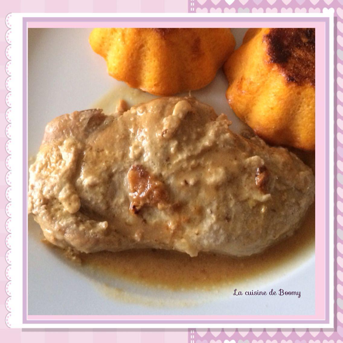 Filet de porc au vin blanc (Cookeo)