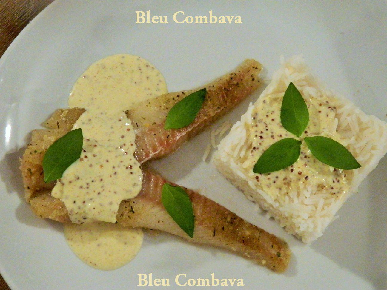 Filet de Colin d'Alaska Sauce Moutarde et Curry