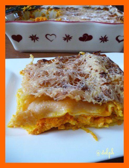 Lasagnes poulet carottes