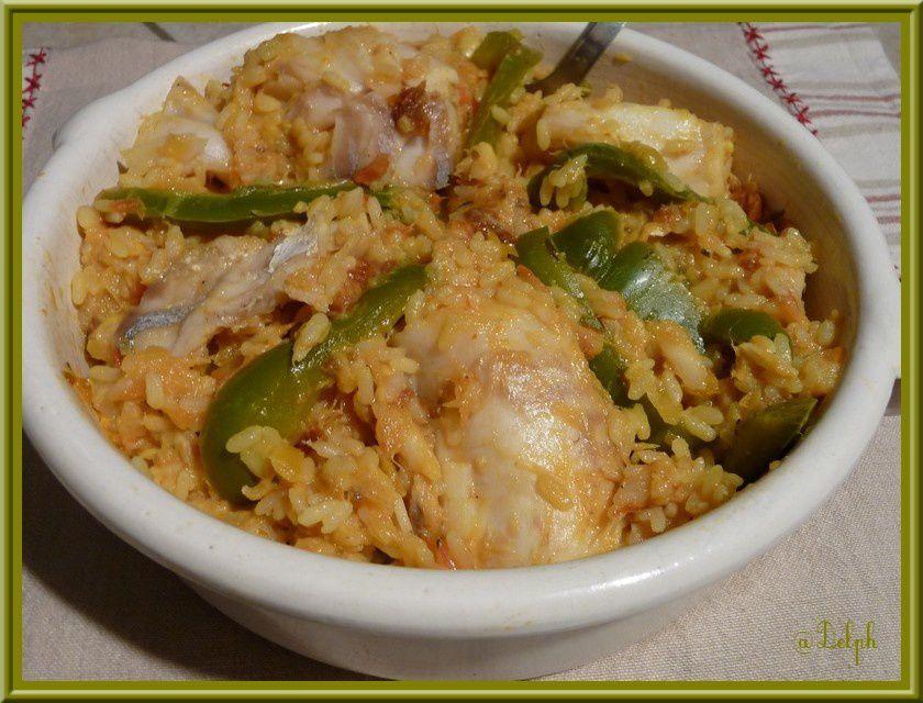 Cocotte de riz au cabillaud