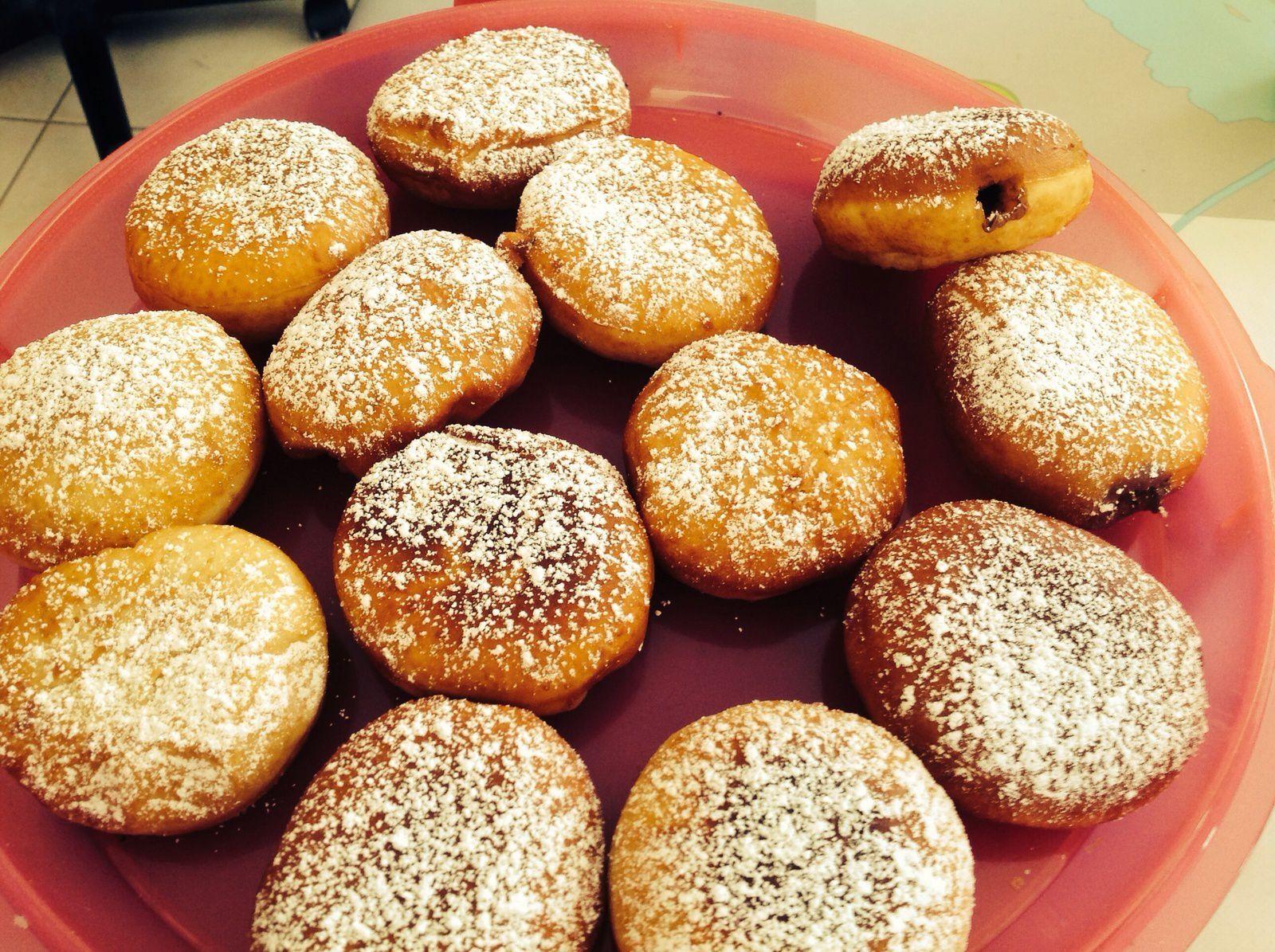Boules de Berlin ( autre recette de beignets)