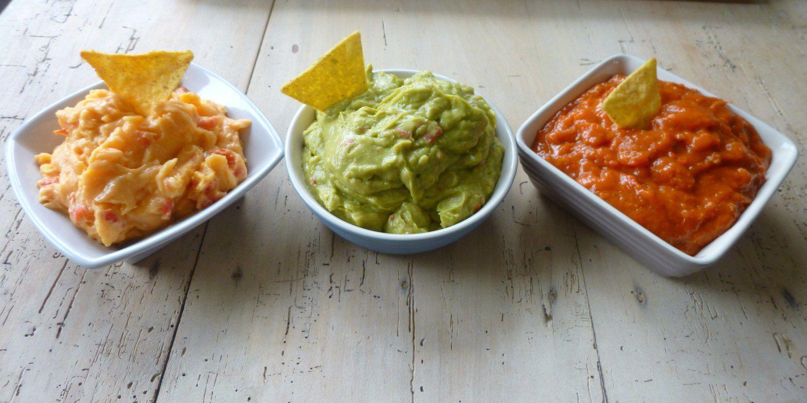 sauces pour tortillas chips