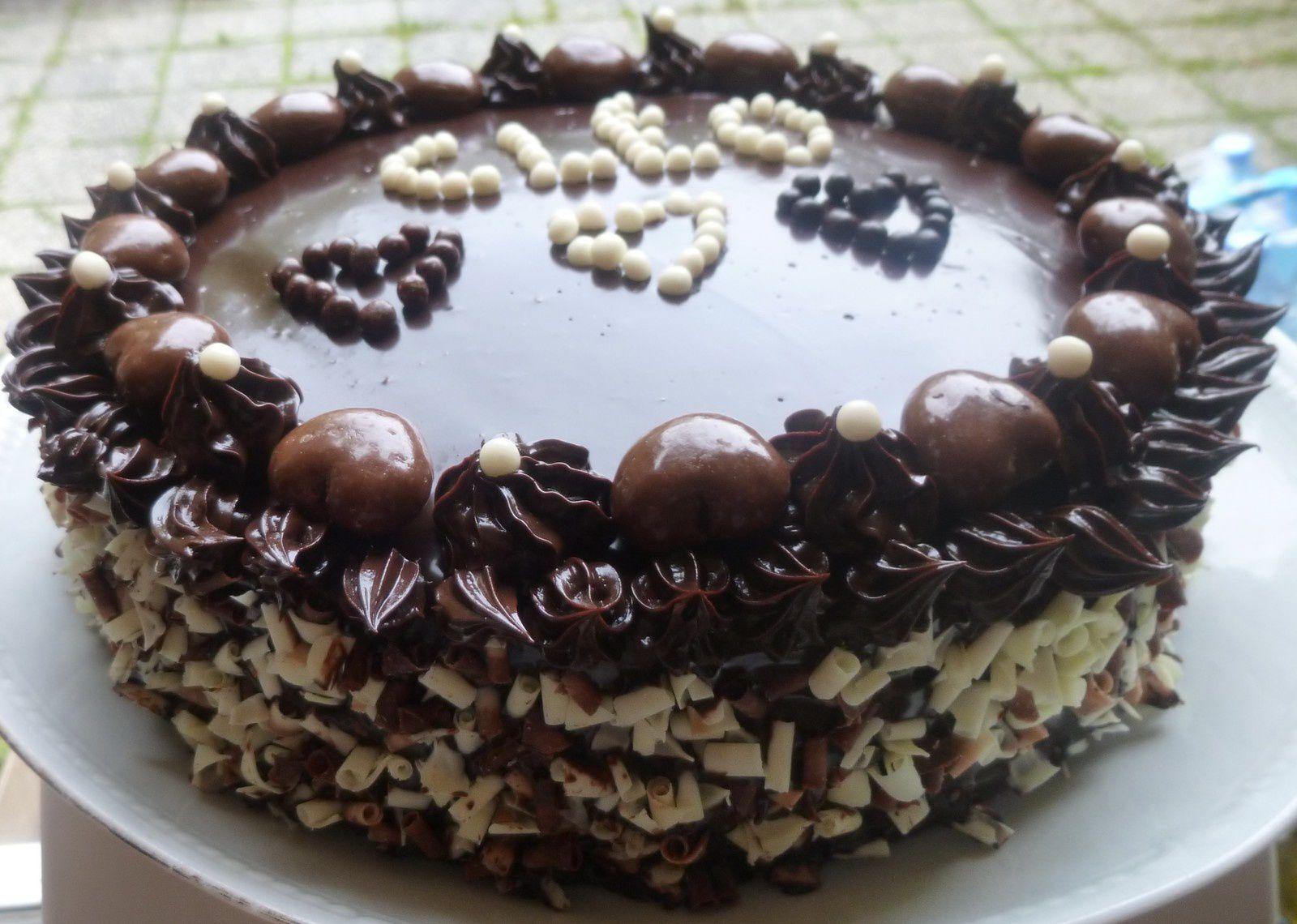 gâteau d'anniversaire tout chocolat:le chocoday de Christophe Felder