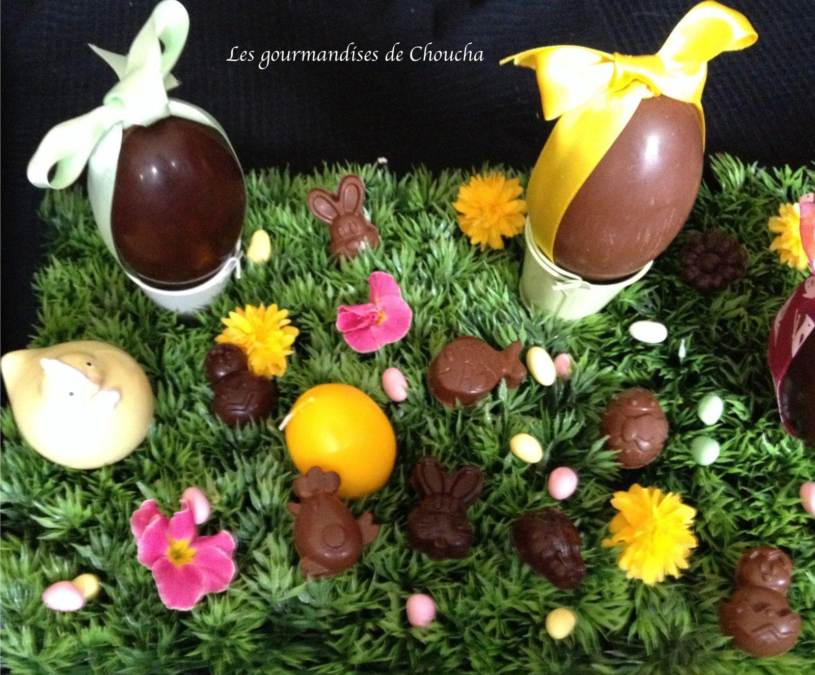 Chocolats au lait fourrés praliné croustillant