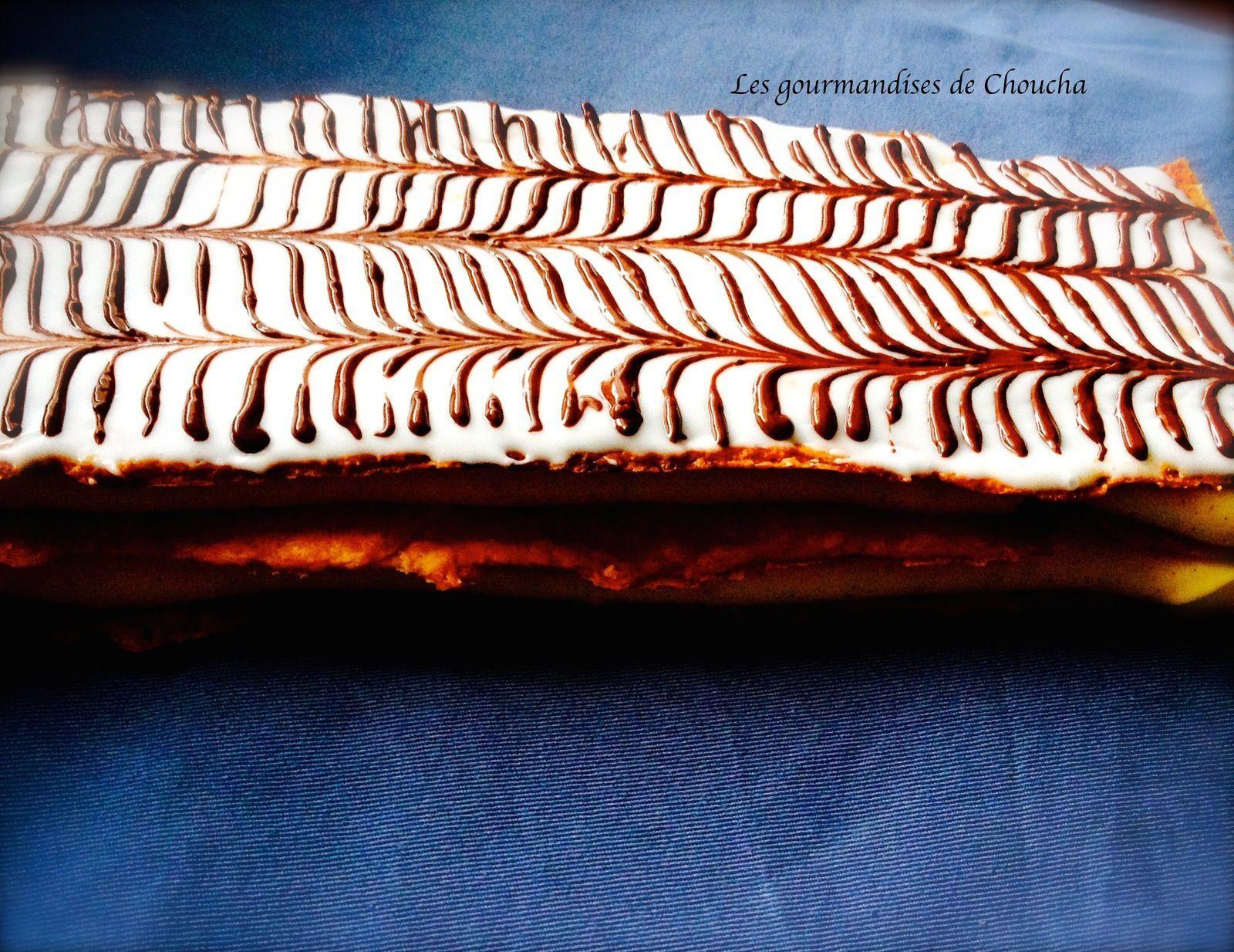 Millefeuille au rhum recette Christophe Felder