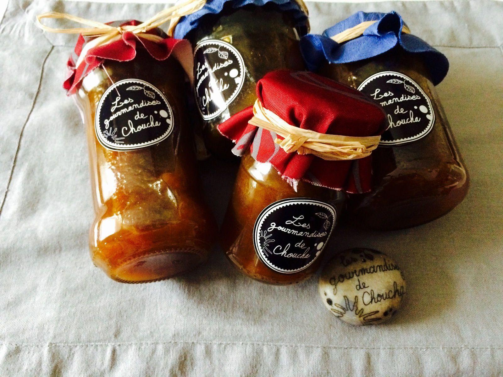 Confiture de Reine-Claude, vanille et canelle