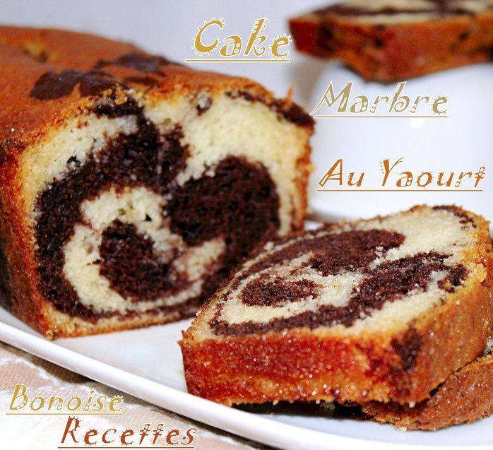 cake marbre/yaourt