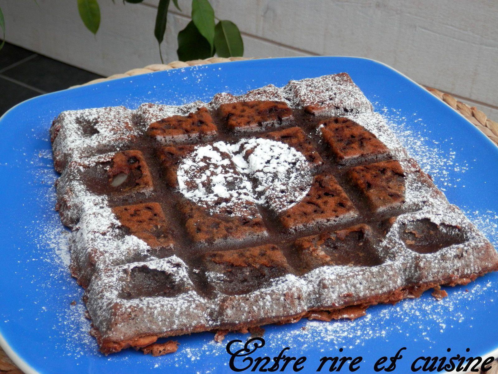 Brownie au Chocolat et à la Compote de Pommes