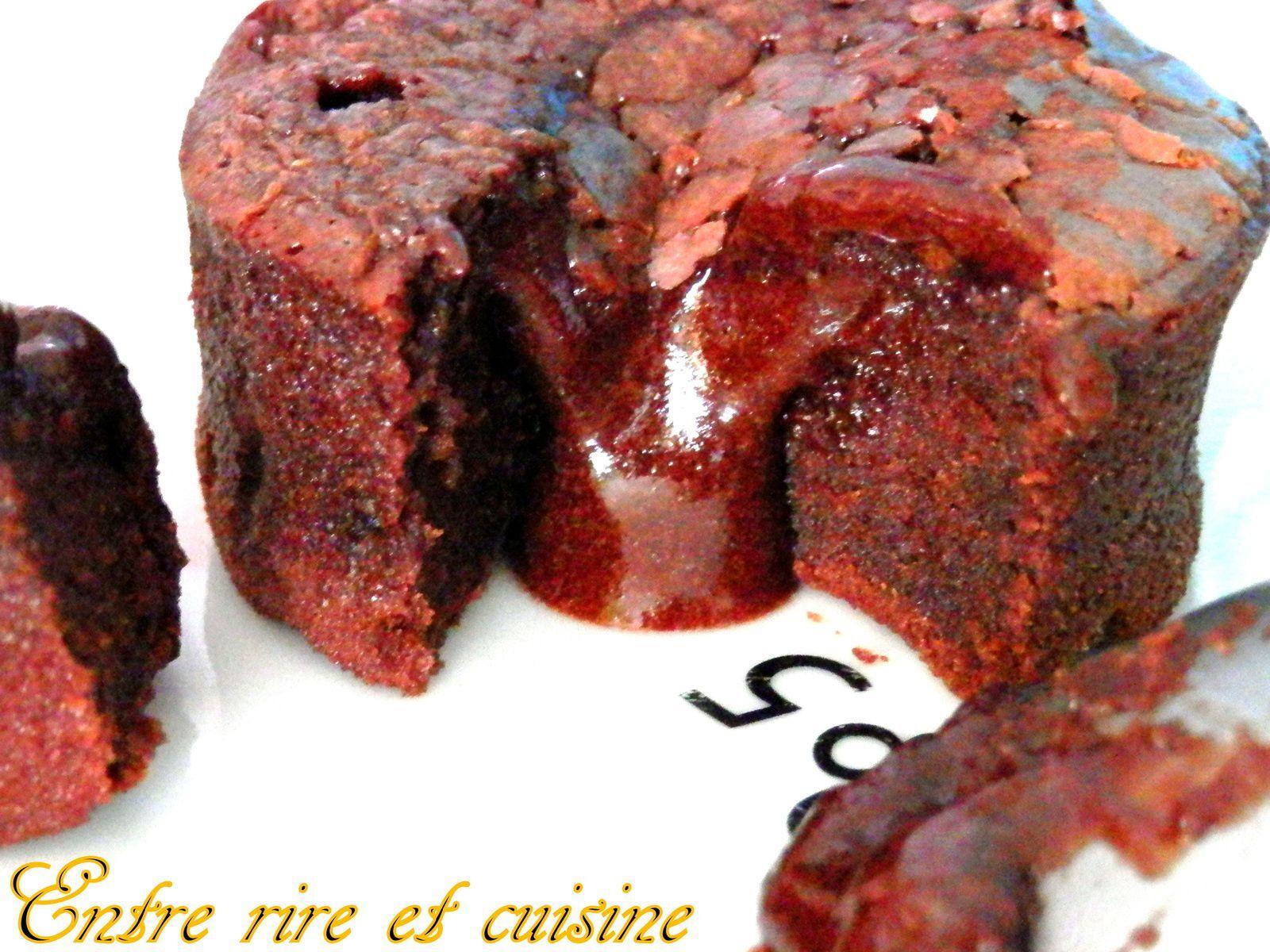 Le Mi-cuit au chocolat de Christophe Michalak...le tout premier chez moi