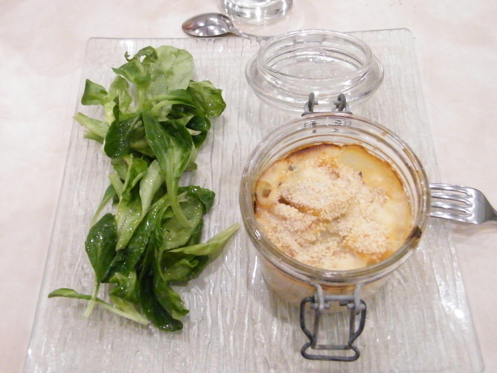 Filet de haddock, chou fleur et béchamel légère