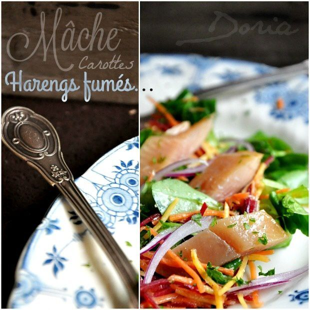 Salade de hareng fumé au Raifort