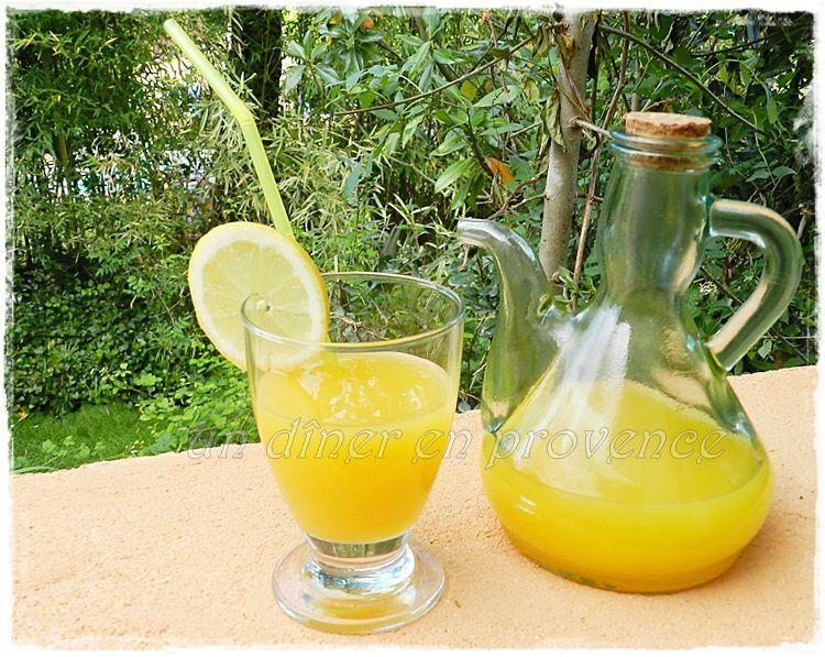 Cocktail Rhum, orange