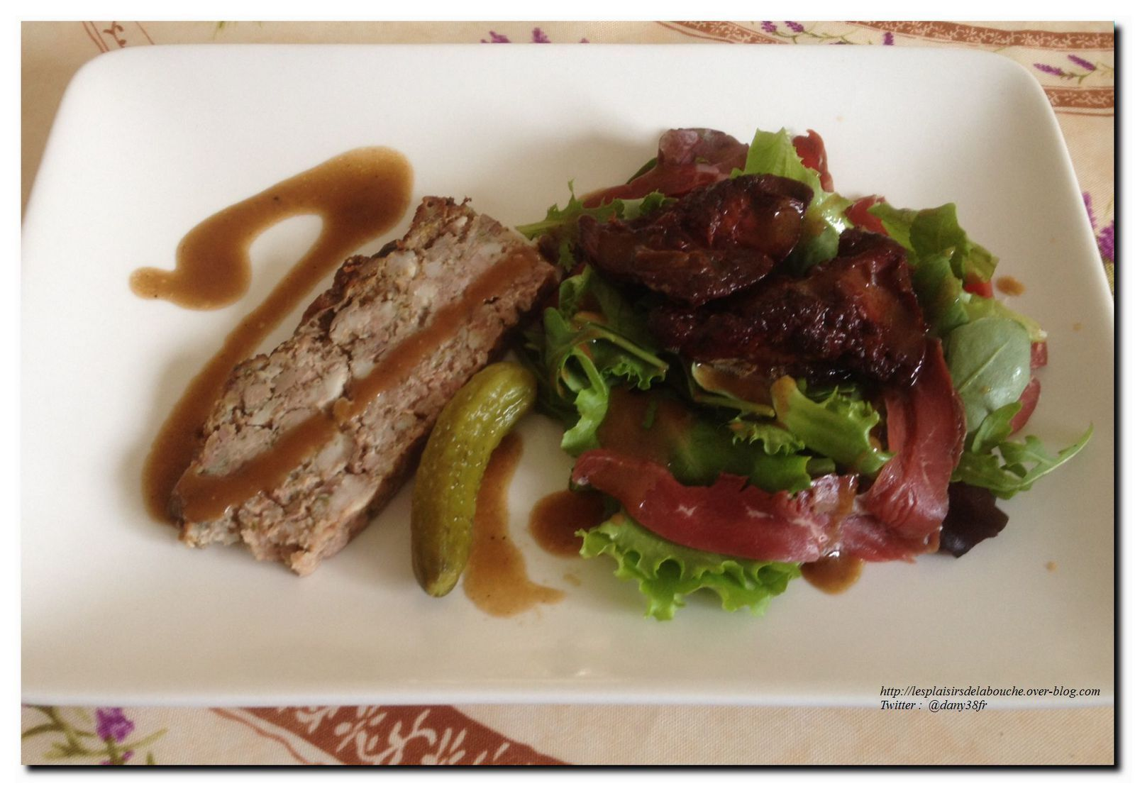Salade style périgourdine