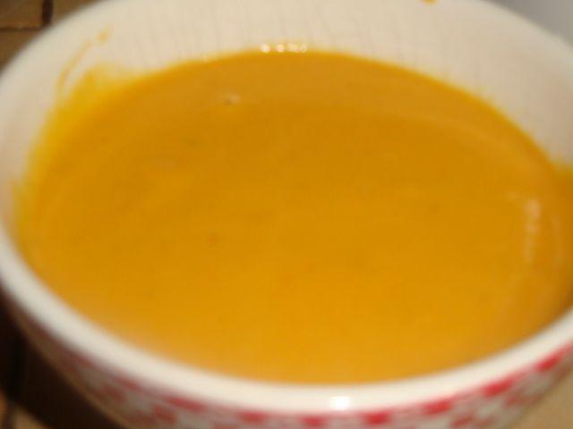 Soupe veloutée de potimarron et pommes de terre!!!cookeo usb