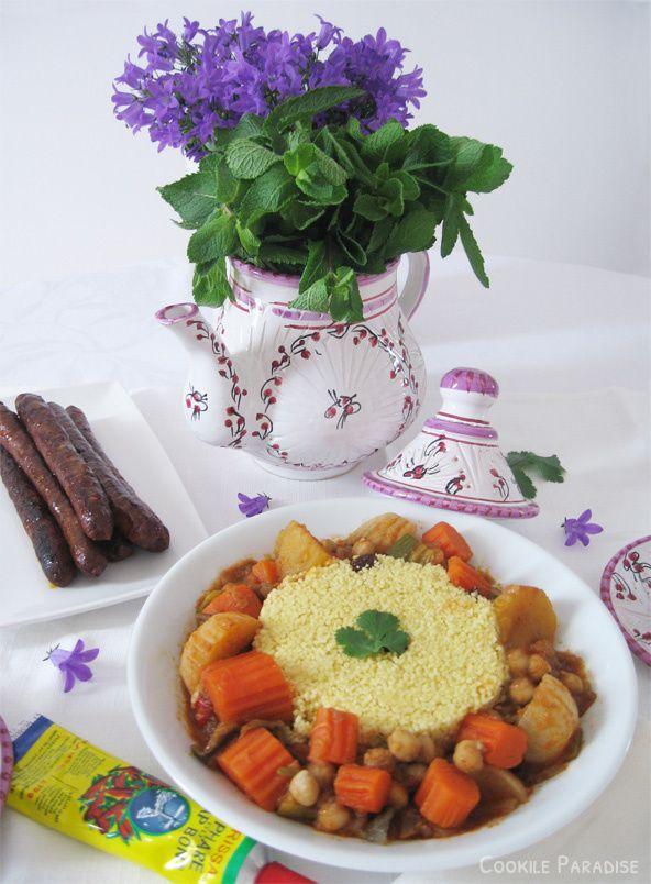 Mon couscous aux légumes