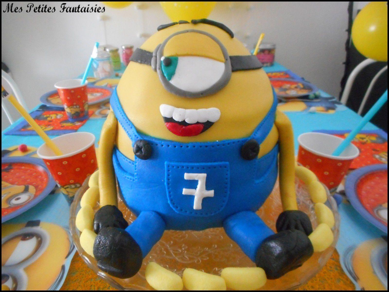 Gâteau Minion !