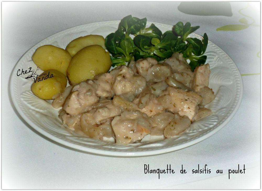 Blanquette de poulet aux salsifis