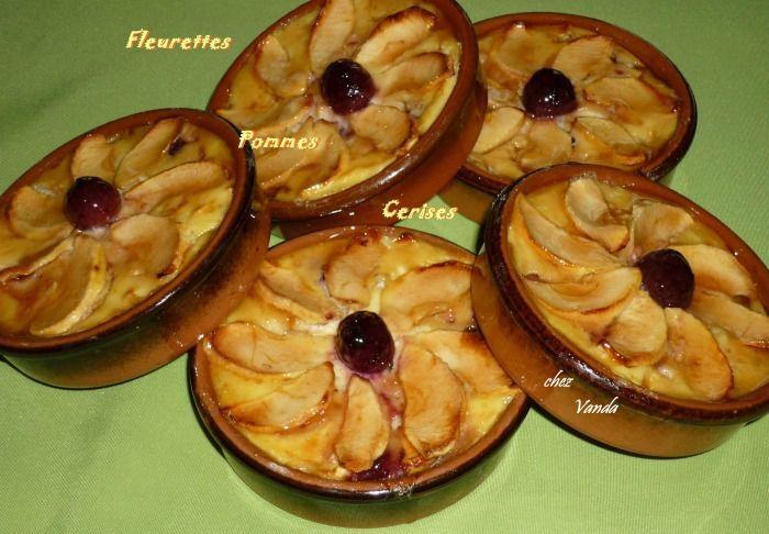 Fleurettes pommes cerises