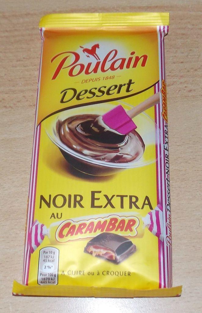MOUSSE AU CHOCOLAT CARAMBAR