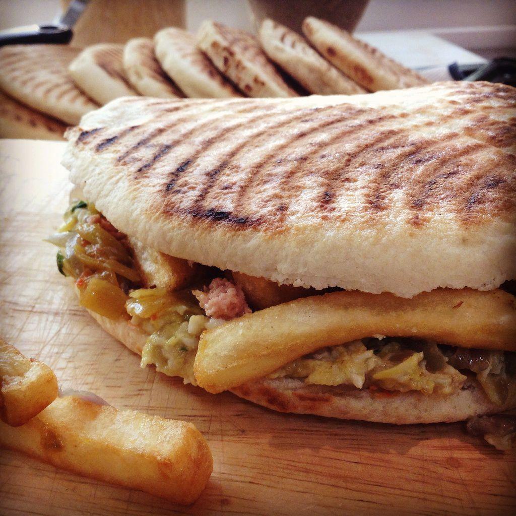 Le sandwich tunisien dit chapatis