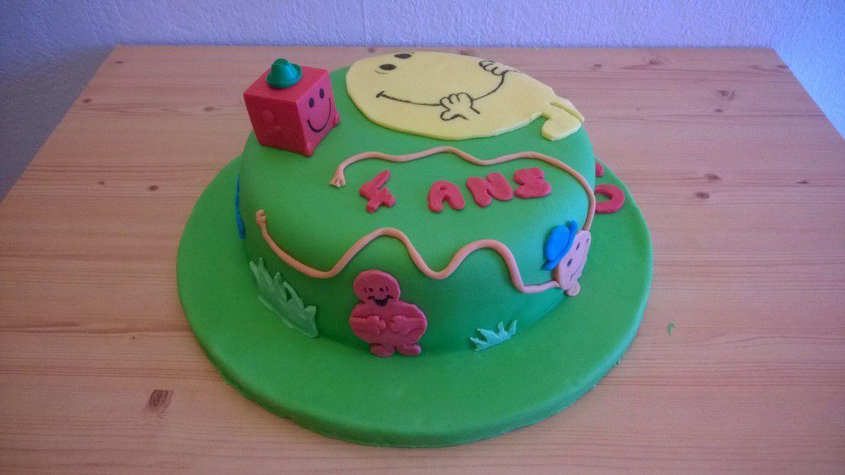 Gâteau Monsieur