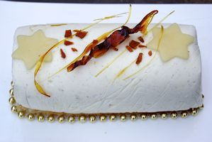 buche vanille caramel cyril lignac