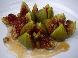 Figues rôties au miel (recette grecque)