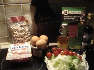 On mange quoi demain ? Salade périgourdine