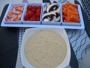 Rillette de thon pour Toast ou légumes à croquer