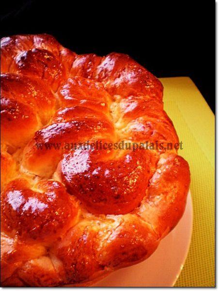 Brioche à la fleur d'oranger de Sabrina Meilleur Pâtissier
