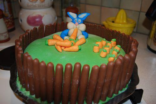 Gâteau du lapin de Pâques