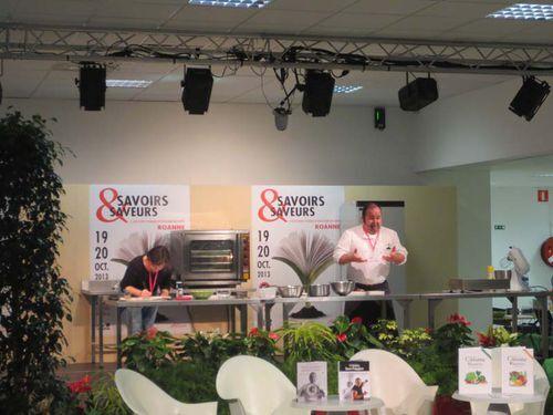 Salon Savoirs & Saveurs à Roanne - 2013