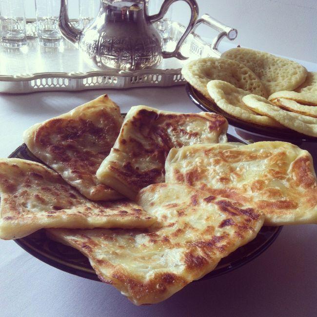 msemmens (crèpes marocaines feuilletées)