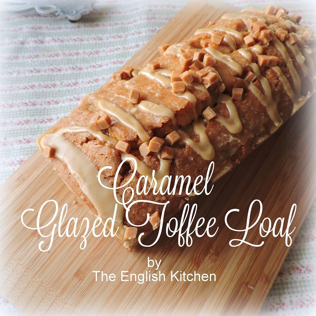 Caramel Glazed Toffee Loaf