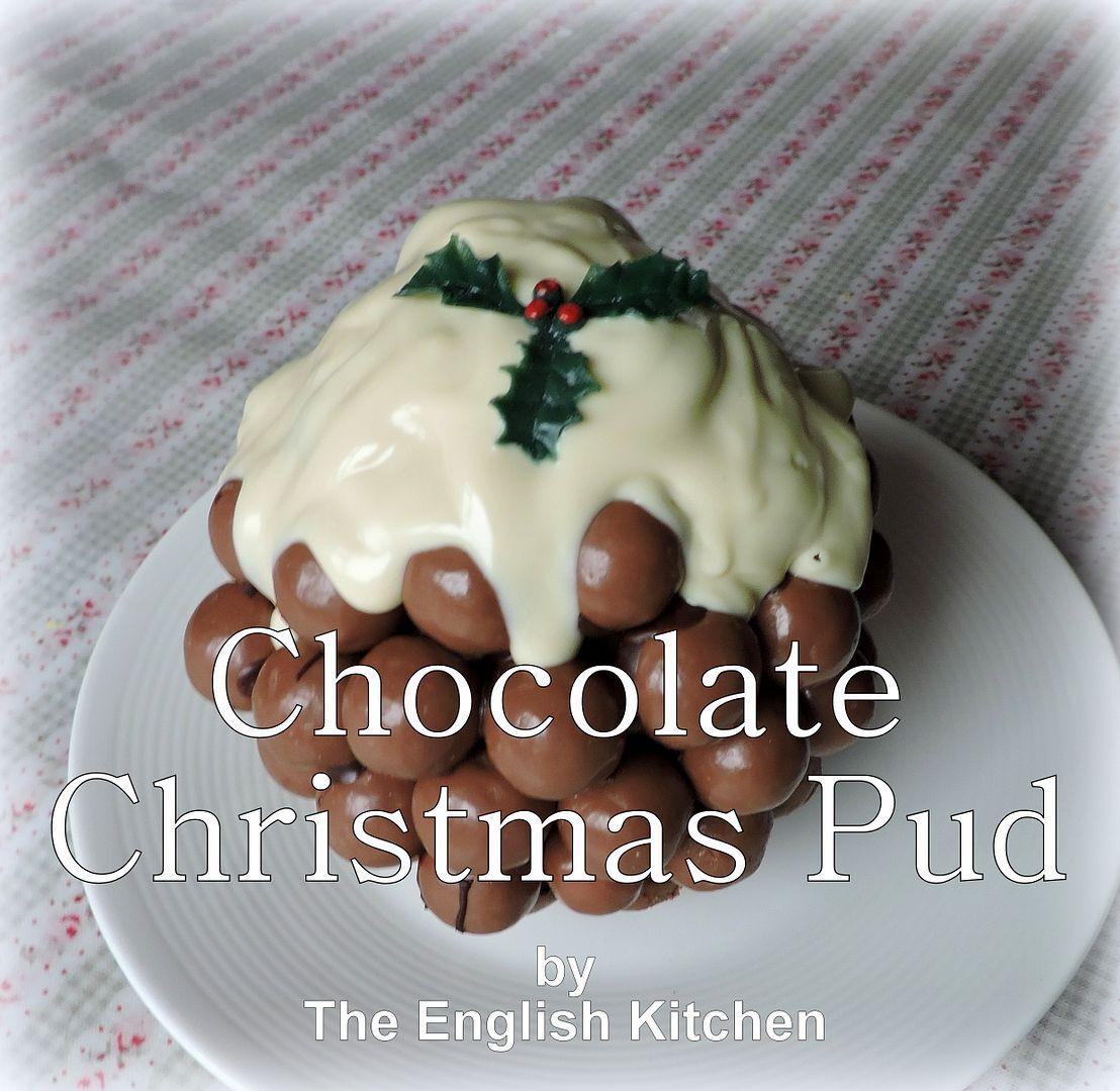 Maltesers Christmas Pudding