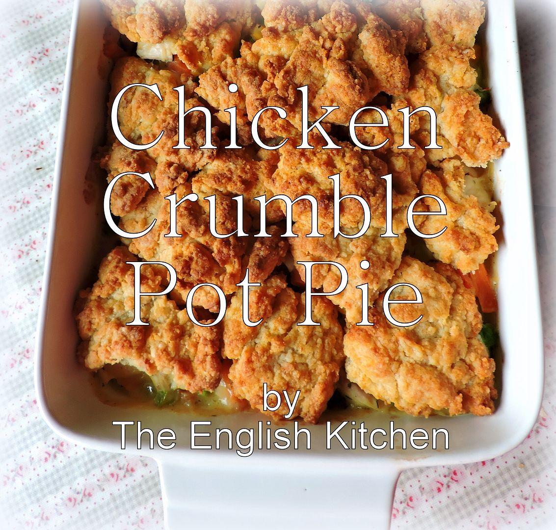 Chicken Crumble Pot Pie