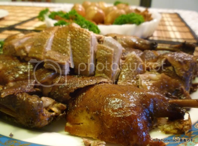 Teochew Loh Ack (Braised Duck) 潮州卤鸭 - Featured in Group Recipes