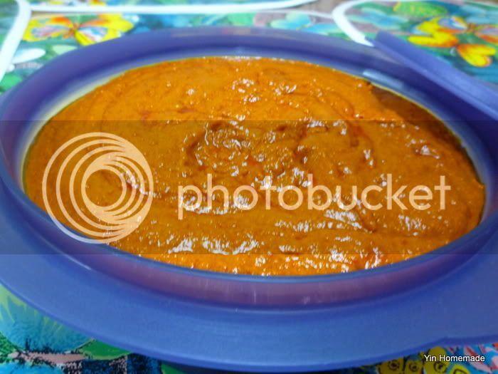 Sambal Belacan Chili paste三巴峇拉煎辣椒酱