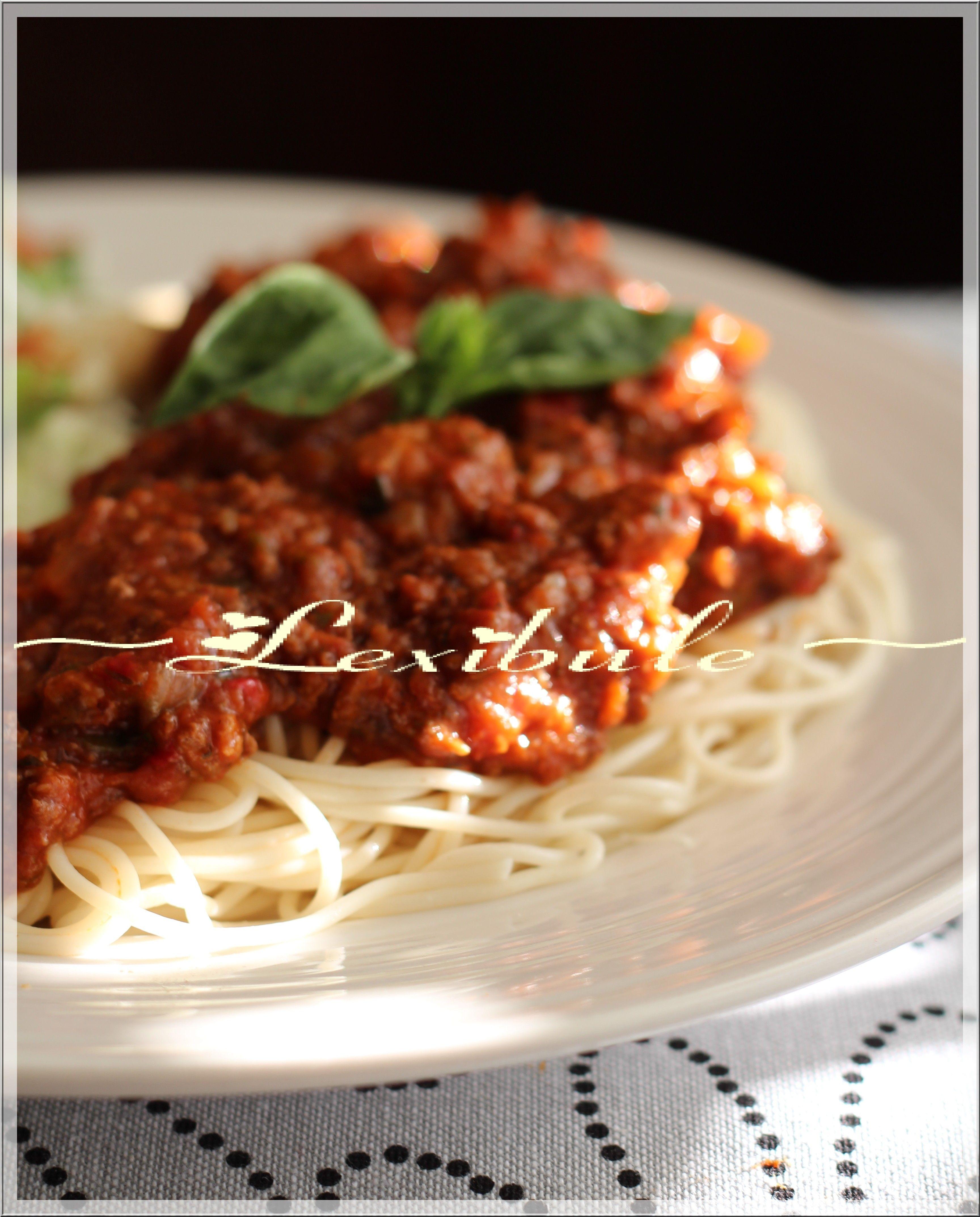 Sauce à spaghetti au four de Jean-François Plante