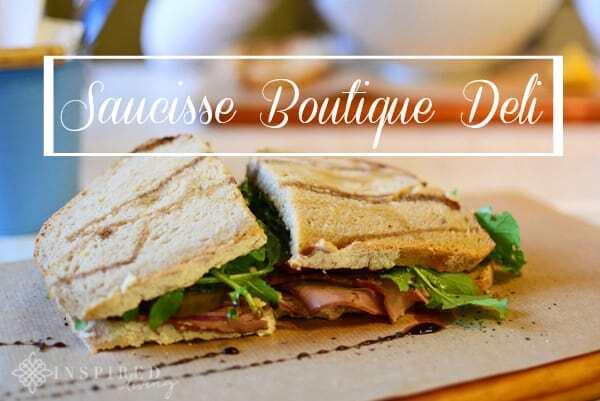 Local Foodie Heaven at Saucisse Boutique Deli