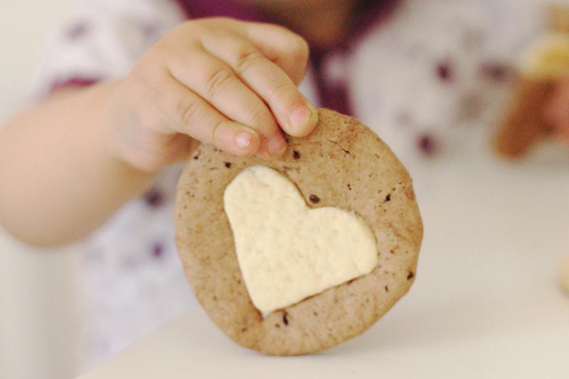 Biscoito de ovomaltine e amor!