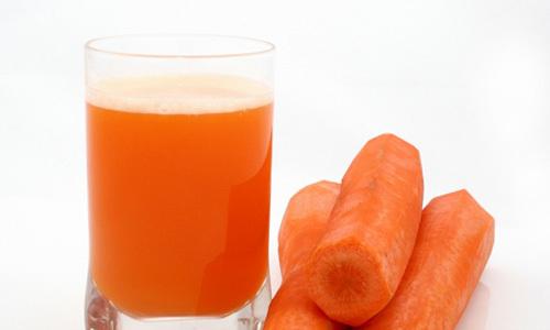 Jugo de zanahoria y limón