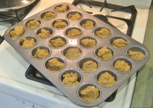 wheat belly pumpkin muffin