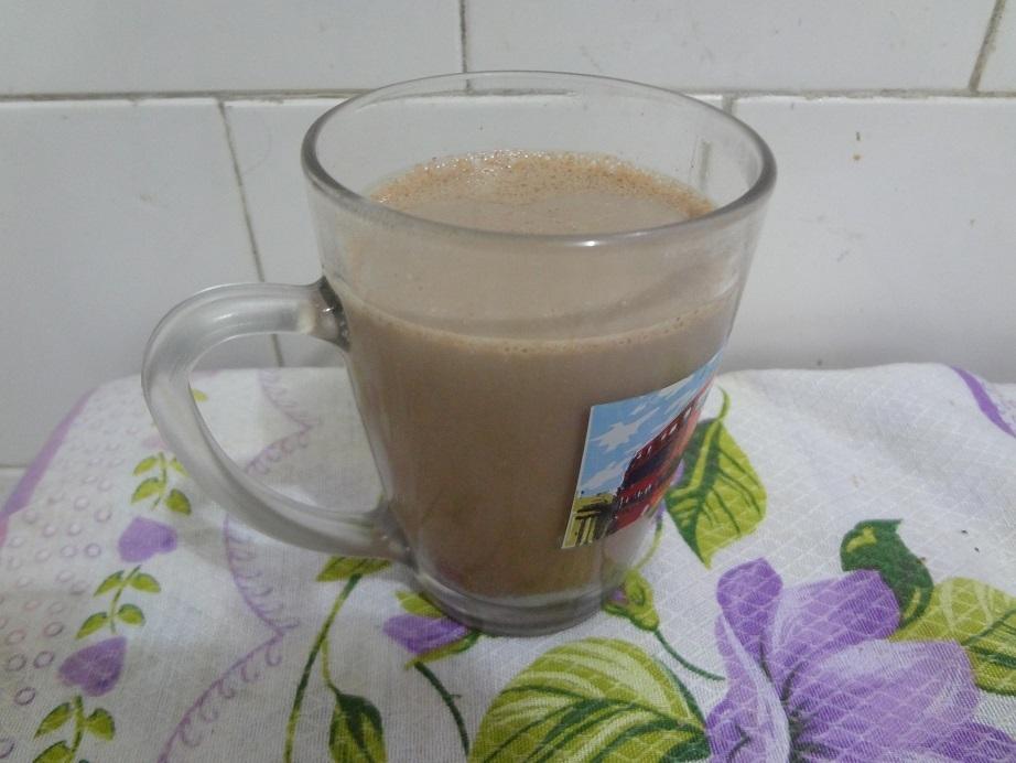 Chocolate quente com leite condensado e toque de canela