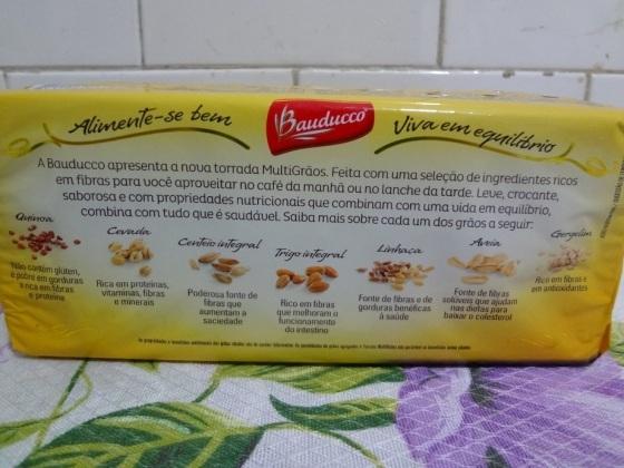 Torrada Multigrãos – Bauducco