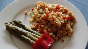 Gebratener Reis (indisch)