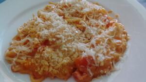Spaghetti Käse Auflauf Südstaaten Art