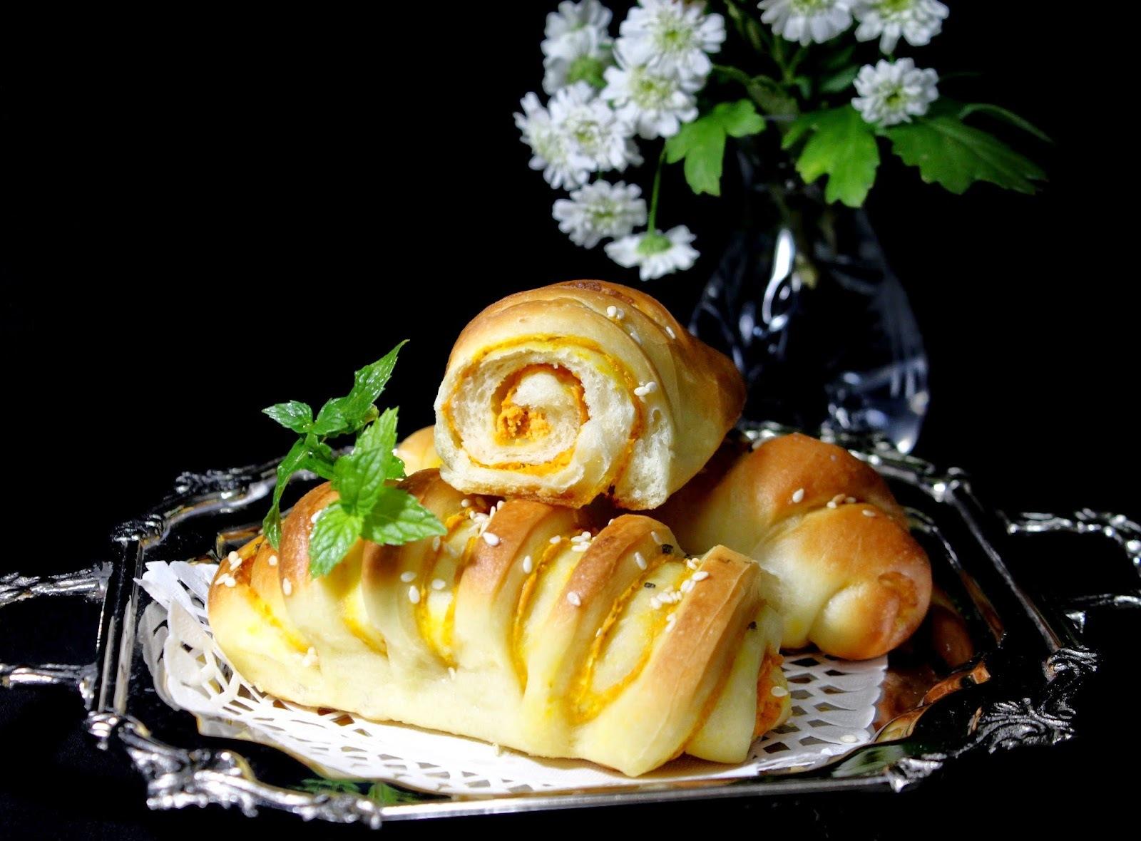 Pomoravka – Peciva sa bundevom i krem sirom
